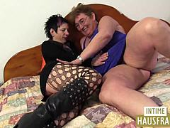 Mommy with old actress lesbian deal