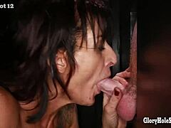 Gloryhole secrets cultured lady comes by plentiful cum than that sweetie